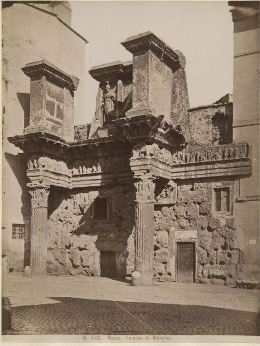 Roma. Tempio di Minerva