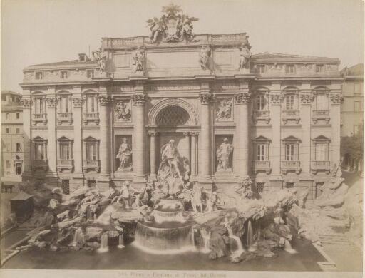 Roma.Fontana di Trevi del Bernini