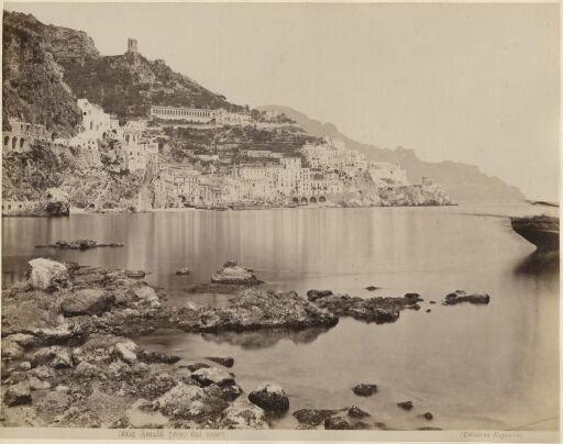 Amalfi preso dal mare