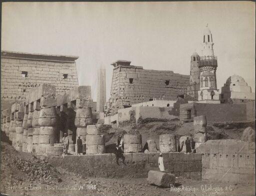 Temple de Luxor (Porte Triomphale)
