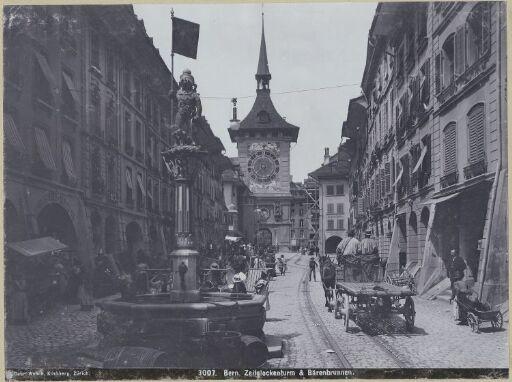 Bern. Zeitglockenturm & Bärenbrunnen