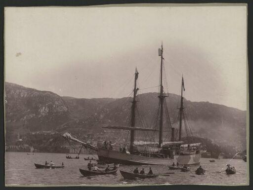 Frams avreise fra Bergen