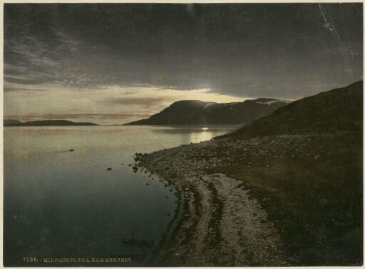 Midnatsol fra Hammerfest