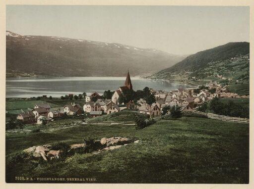 Vossevangen. General View