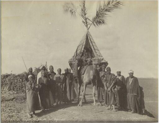 Voyage de Mariée sur chameau