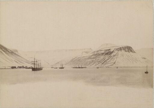 Isafjord Havn, 22 mai 1887