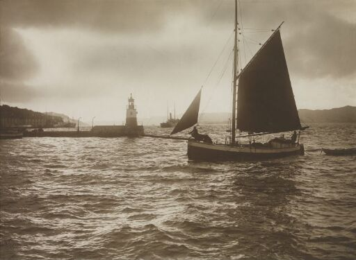 Fra Indløbet til Bergens Havn