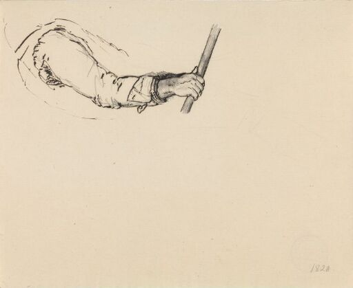Studie av arm og hånd
