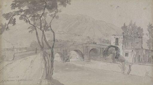 The bridge across Sarno near Castellammare
