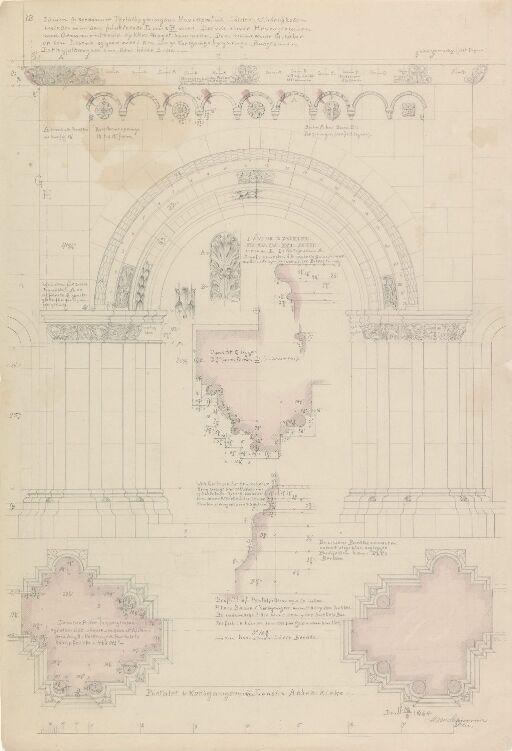 Portal i klosterkirken Maria Laach