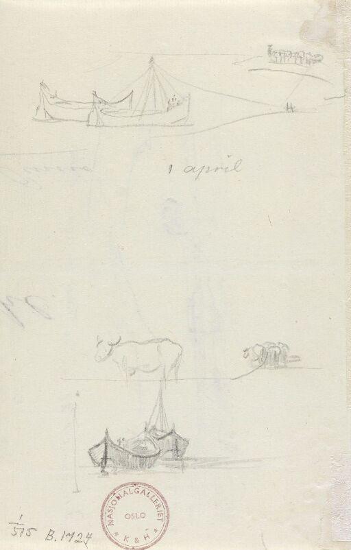 Kveg og båter, Tiberen