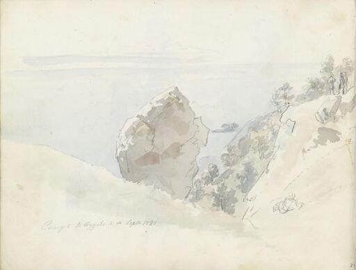 På toppen av Monte Sant' Angelo