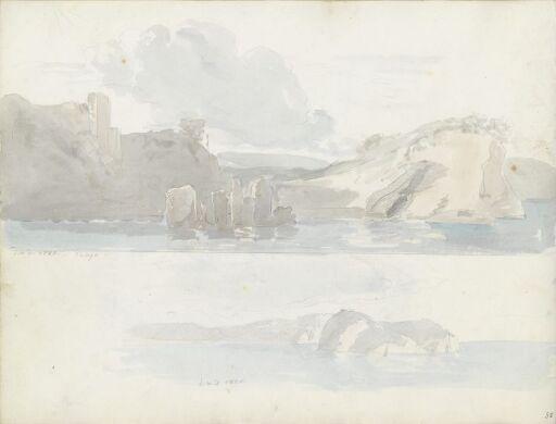 Ruiner ved Baia; Nisida