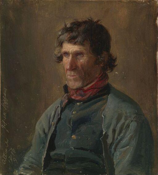 Joseph Steffens fra Altenahr. Figurstudie