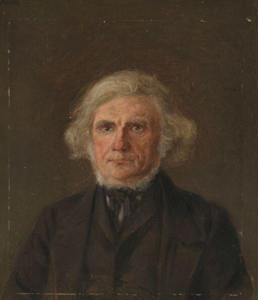 Gammel mann, portrettstudie