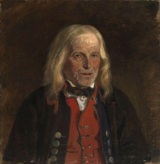 Portrait Study of the Farmer Jan Sandve[?]