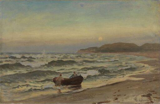 Storm på Rügen
