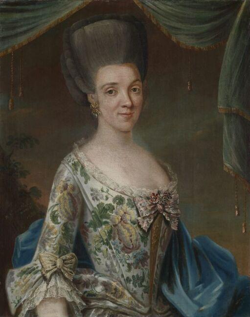 Portrait of Elisabeth Geelmuyden Gyldenkrantz
