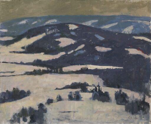 Blå vinter