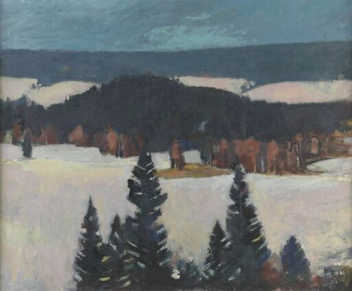 Vinter, Enebakk