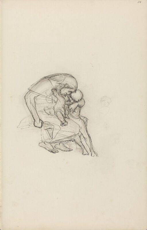 Figur og to barn