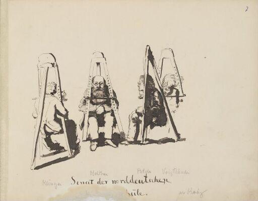 Den nordtyske malerskolens senat