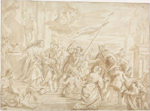 St. Markus', St. Marcellianus' og St. Sebastians martyrium