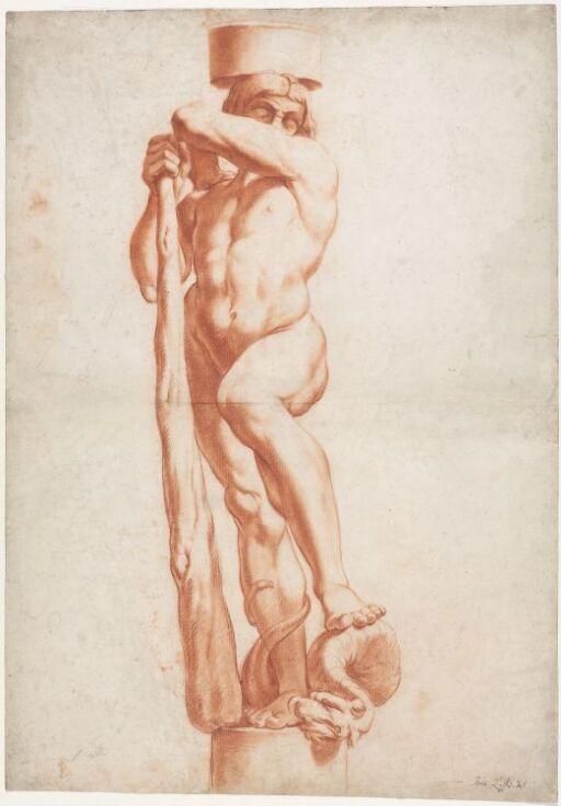 Herkules som karyatide