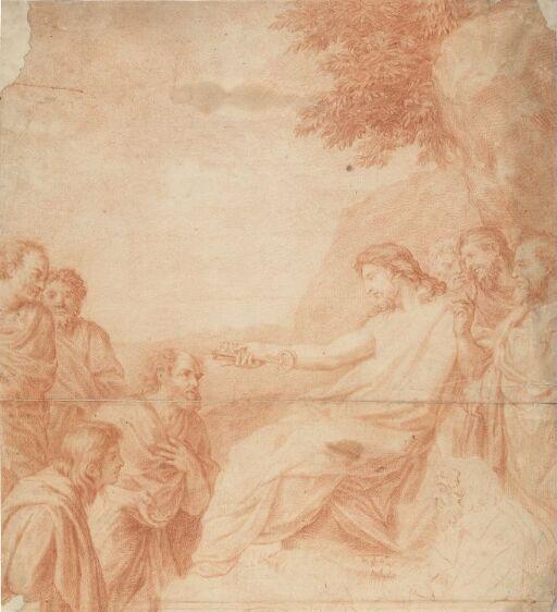 Kristus gir nøklene til St. Peter