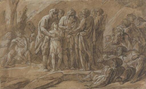 Josef selges av sine brødre