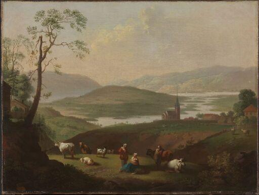 Utsikt mot Norderhov kirke