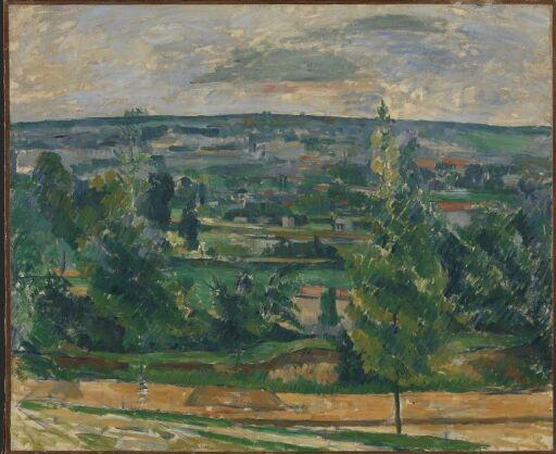 Landscape from Jas de Bouffan