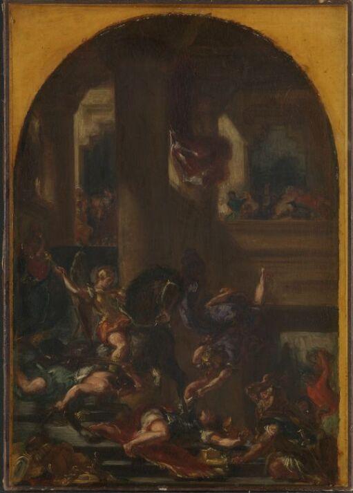 Heliodor drives ut av tempelet i Jerusalem