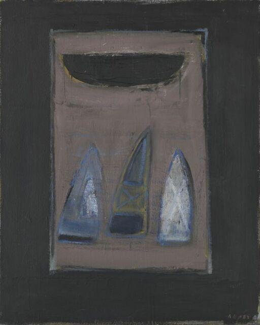 Tavle - Båt og segl