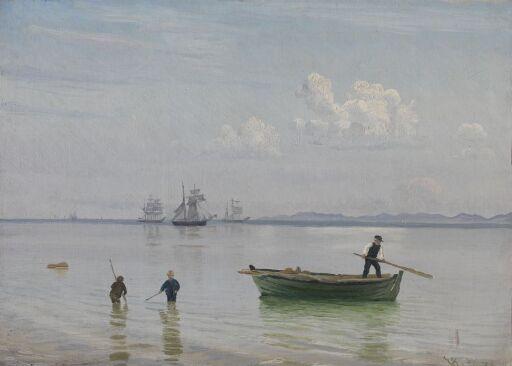 Ved Hellebæk strand