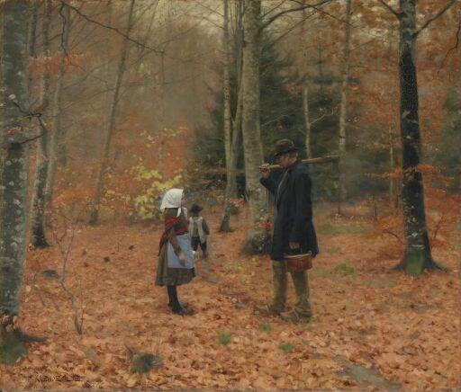 Skogsarbeideren og hans barn