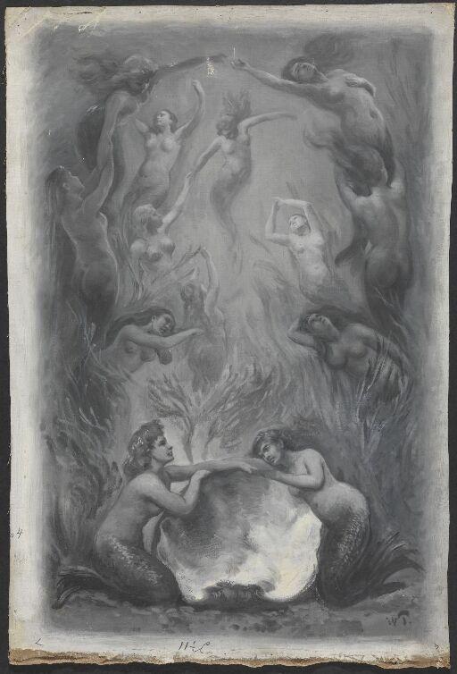 Illustrasjon til Henrik Wergeland, Den engelske lods