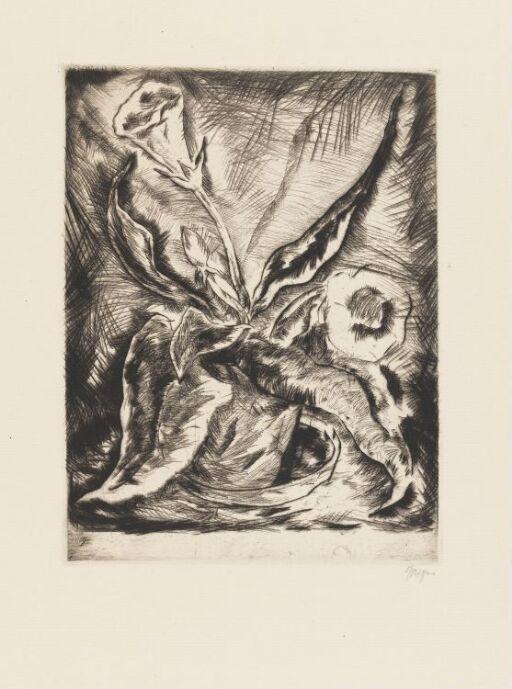 """I mappen """"Kreis graphischer Künstler und Sammler"""", Jahresgabe 1921"""
