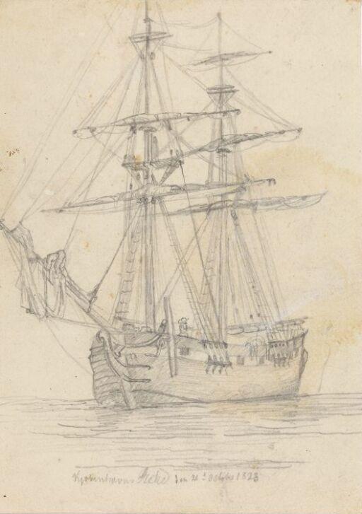 Tomastet skip ved Københavns red