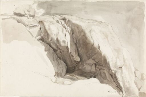Rocks at Solvorn in Sogn