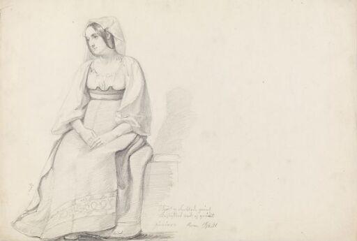 Ung kvinne, Roma