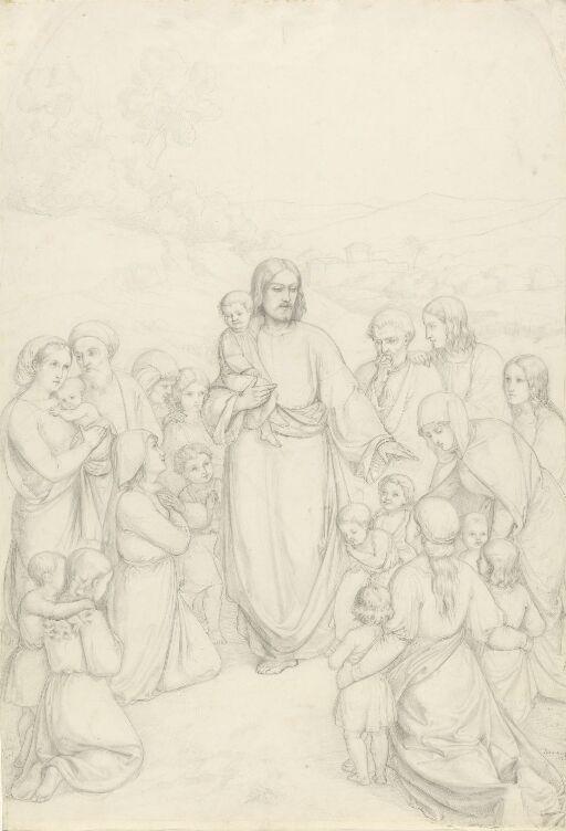 Jesus velsigner barna