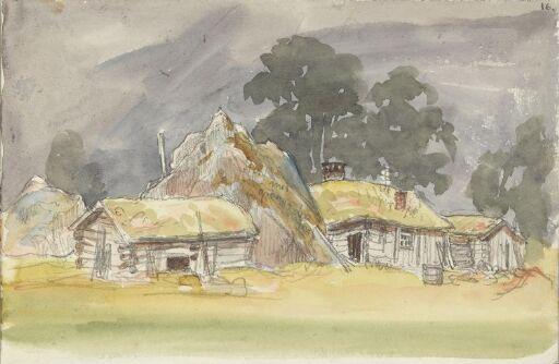Gamle hus i Romsdal