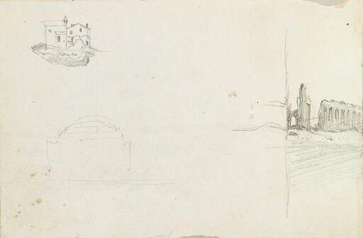 Bygninger; Campagna Romana (fragment)