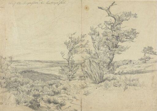 Lüneburger Heide, nach Christian Morgenstern