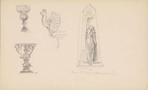 Riss fra Den nordiske utstillingen i København 1888