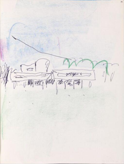 Studie av Le Corbusiers Villa Savoye