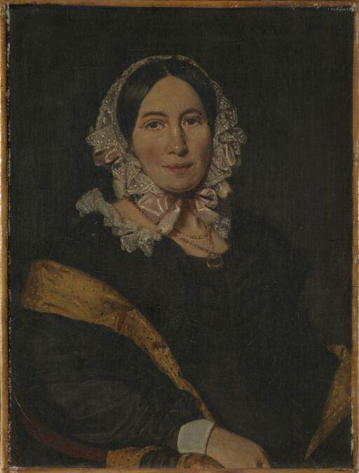 Kunstnerens hustru Kathrine (Tine) f. Lorenzen