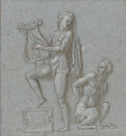 Apollo og satyr