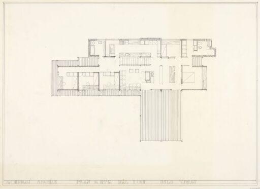 Villa Sparre. Plan.